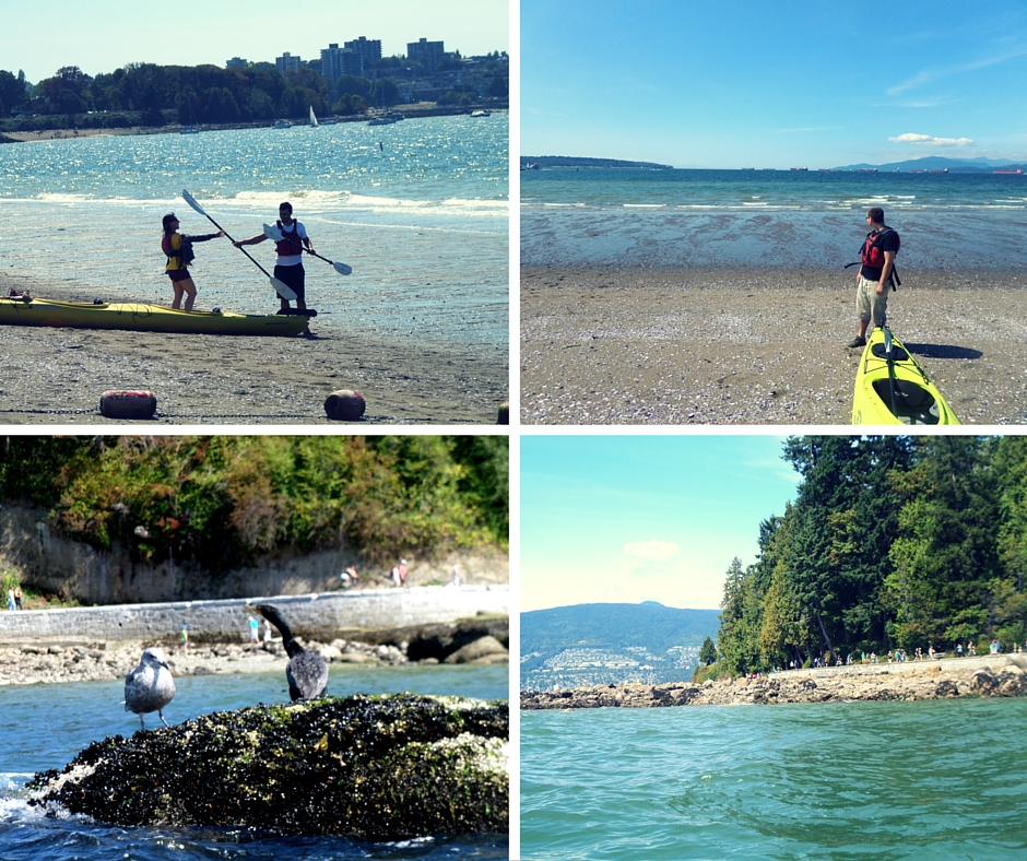 kayaking August 2015 Vancouver