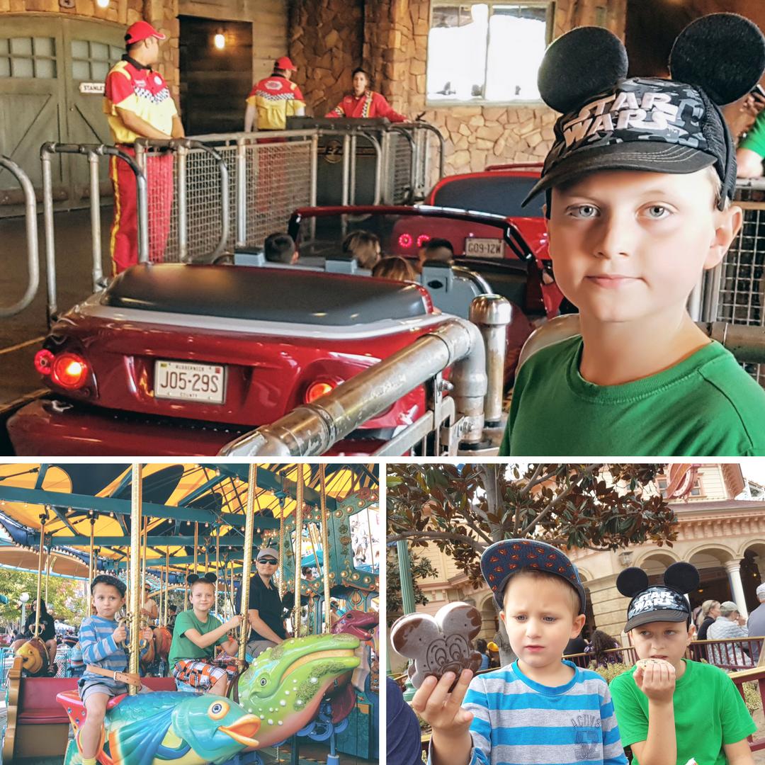 Disney_is_Disney_Disneyland_Kalifornia_Kanada_Sie_nada_blog_o_polskiej_rodzinie_w_Vancouver_i_emigracji_do_Kanady_siatka_trzech_zdjec_z_Kalifornii_Disneyland