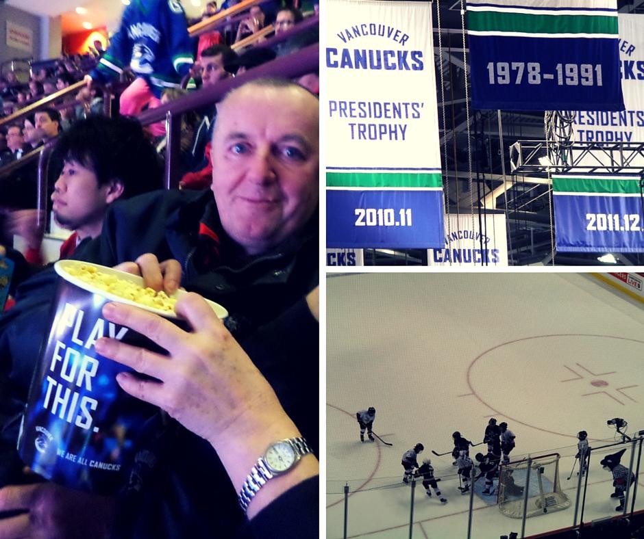 Mecz hokejowy w Vancouver_Kanada się nada_blog o Kanadzie i polskiej rodzinie w Vancouver