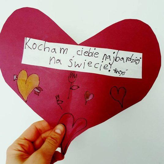 kartka walentynkowa od Krzysia_Kanada sie nada_blog o polskiej rodzinie w Vancouver i emigracji do Kanady