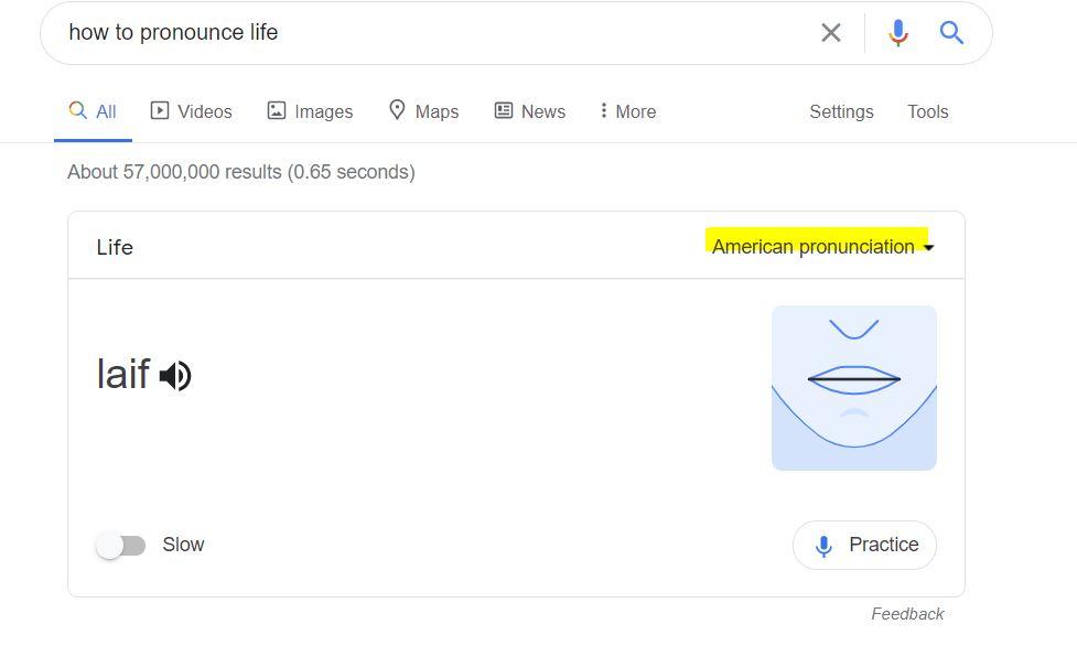show where to find pronunciation in Google Kanada się nada blog o polskiej rodzinie w Vancouver i emigracji do Kanady